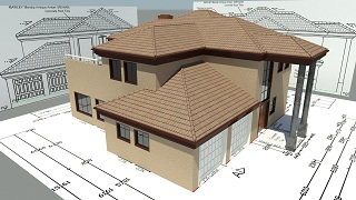 Free House Plans Building Floor Architectuaral South