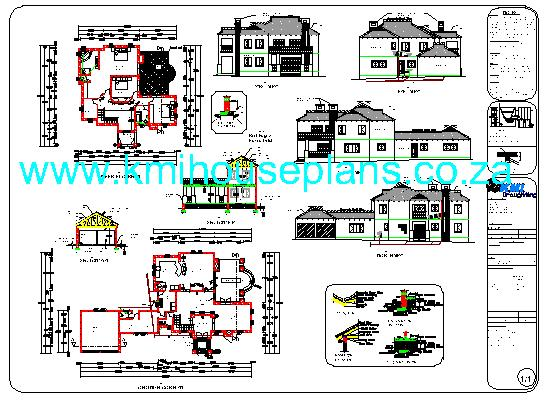 Colonial House What You Get Zip File 1 Plans In Pdf Format 2 Plans In Dwg Format 3 3d Images As Per Website