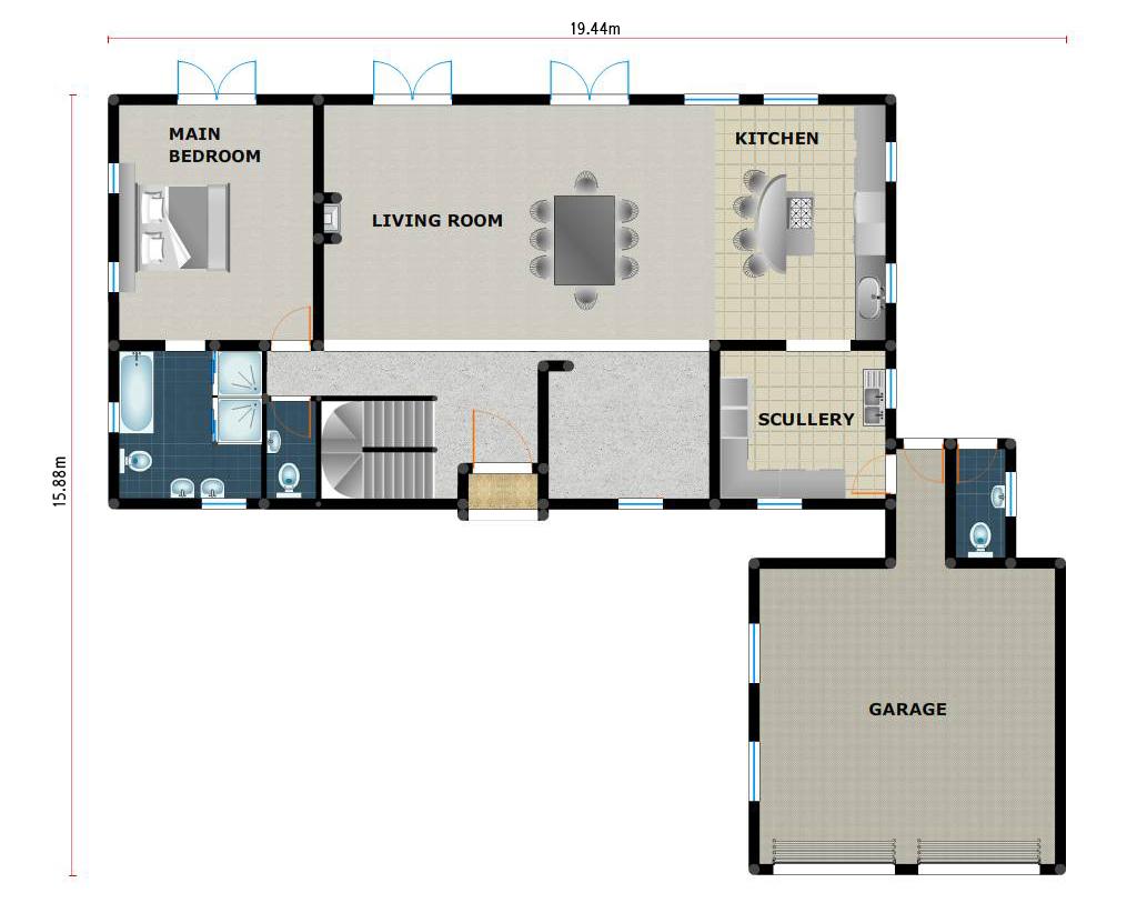 Morden Houses 6 Room South Africa - Modern House